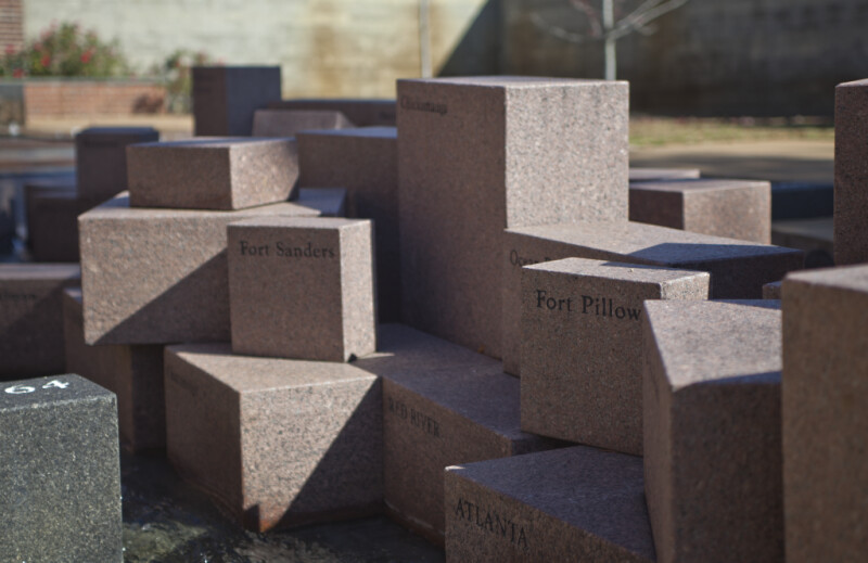The Blocks Representing the Campaigns of Red River and Atlanta