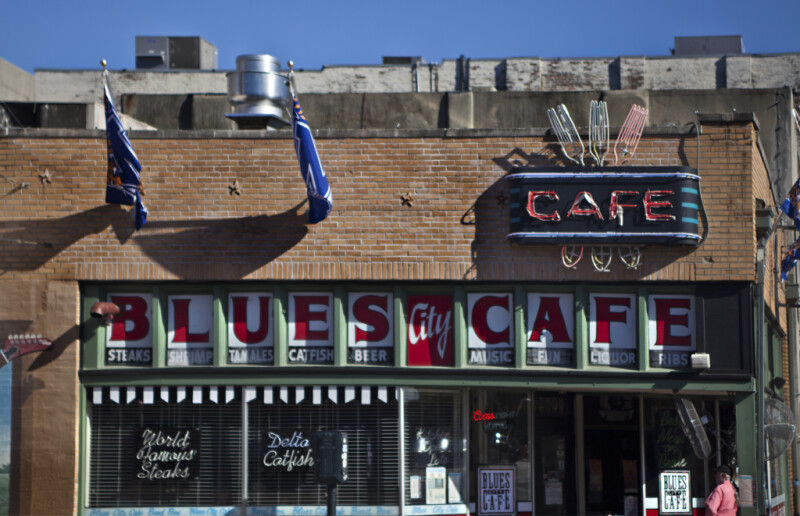 The Blues City Café