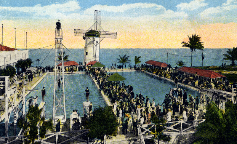 The Casino Swimming Pool in Miami Beach, Florida