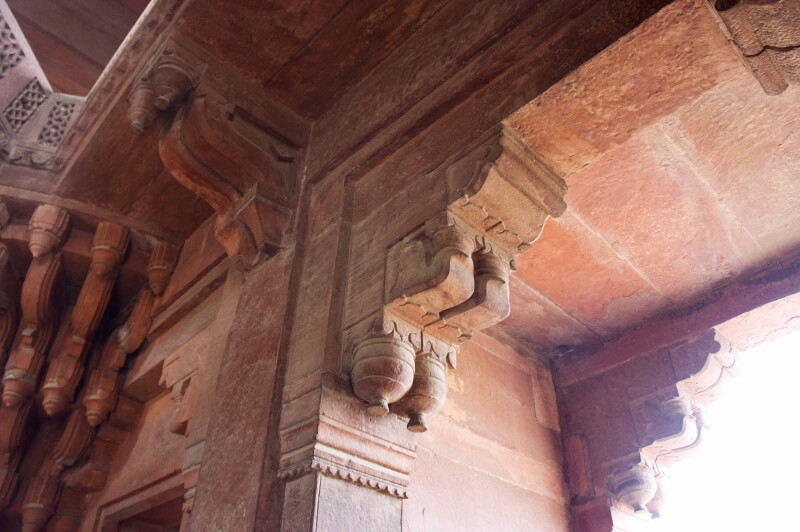 The Ceiling Details of Diwan-i-khas