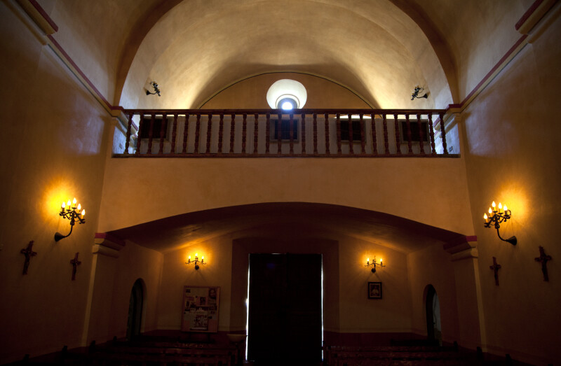 The Choir Loft at Mission Concepción