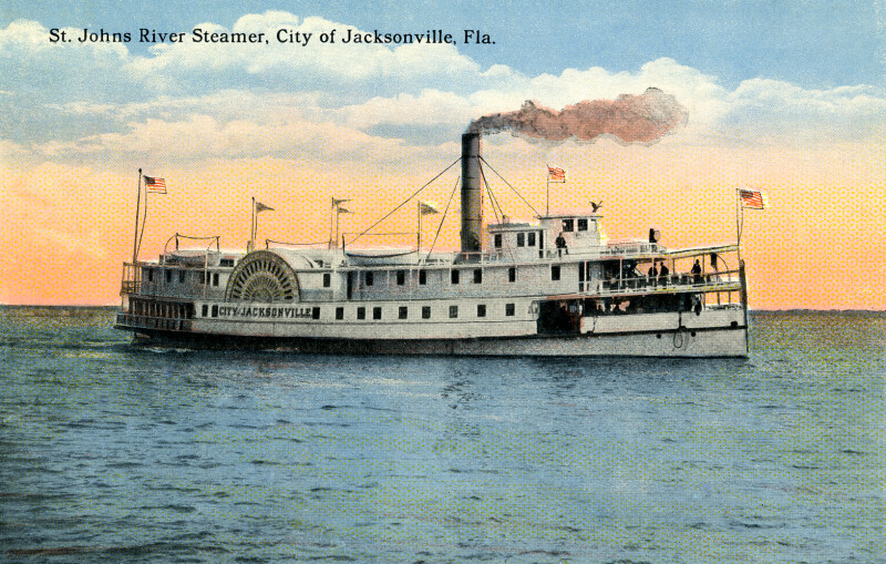 "The ""City of Jacksonville,"" on the St. Johns River"