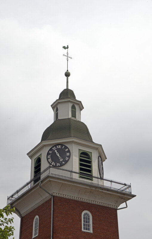 The Clock in the Cupola