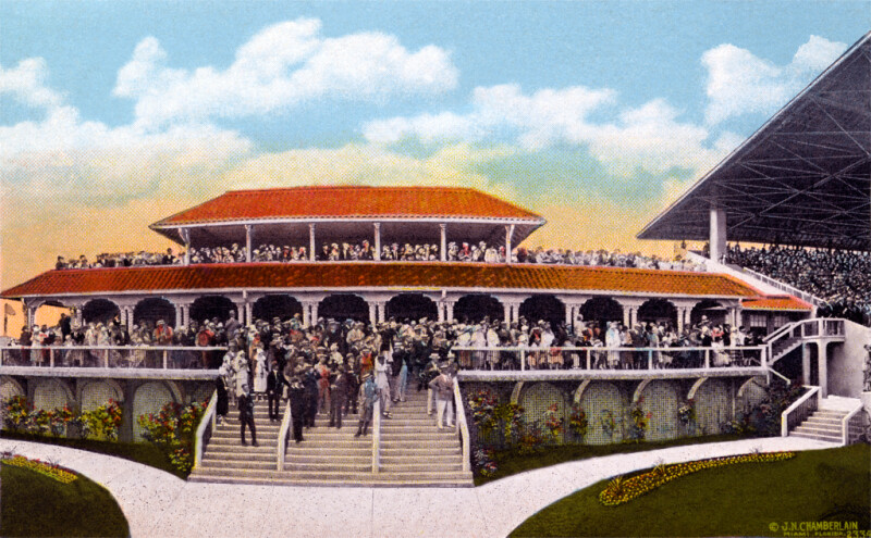 The Clubhouse at the Race Track