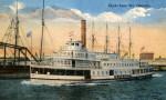"""The Clyde Line Steamer, """"Osceola"""""""