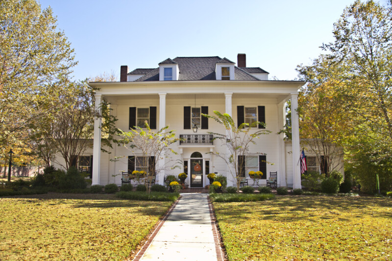 The Collier Home in Corinth, Mississippi