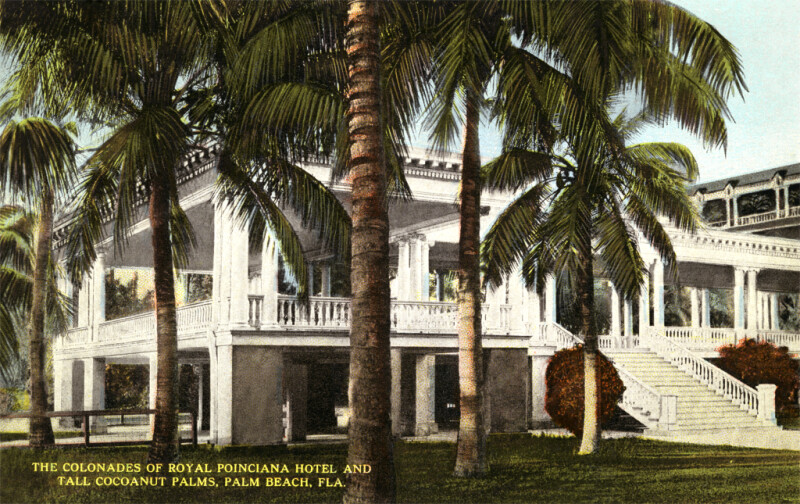 The Colonnade at the Royal Poinciana Hotel