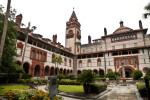 The Courtyard of the Hotel Ponce de Leon