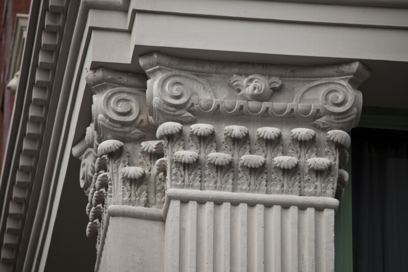 The Decorative Capital of a Composite Pilaster