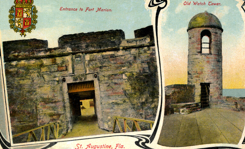 The Entrance to Fort Marion