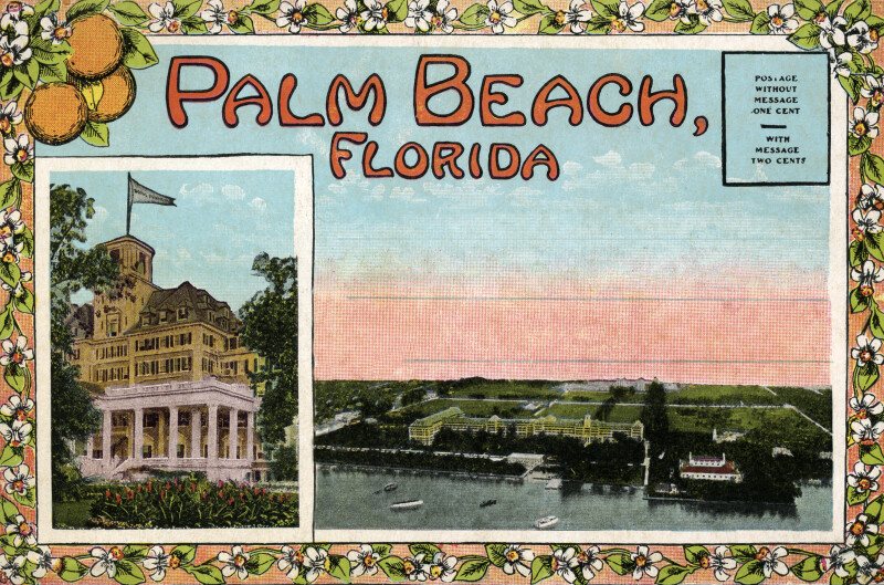 The Entrance to the Royal Palm Hotel and the Royal Palm and the Breakers (cover)