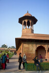 The Forecourt of the Taj Mahal