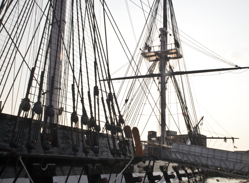 The Foremast of the USS Constitution