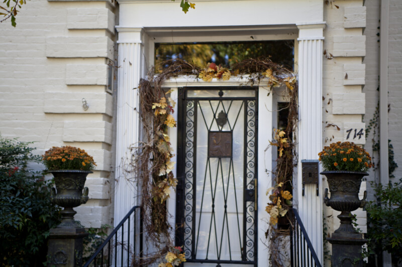 The Front Door of the Sekeles Home