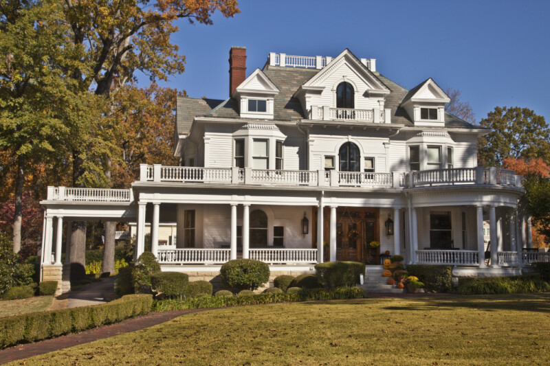 The Front Elevation of the James E. Creary House