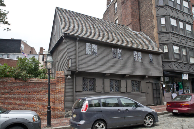 The Front Elevation of the Paul Revere House