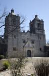 The Front Exterior of Mission Concepción
