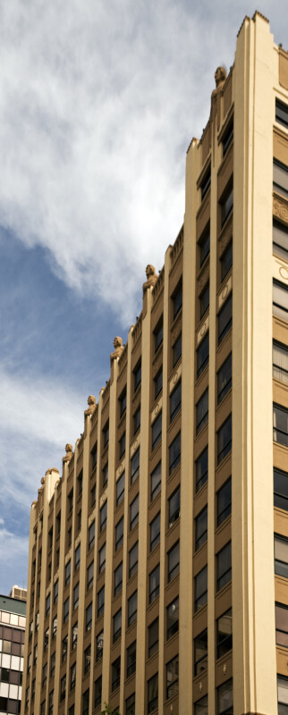 The Front Facade of the Huntington Building