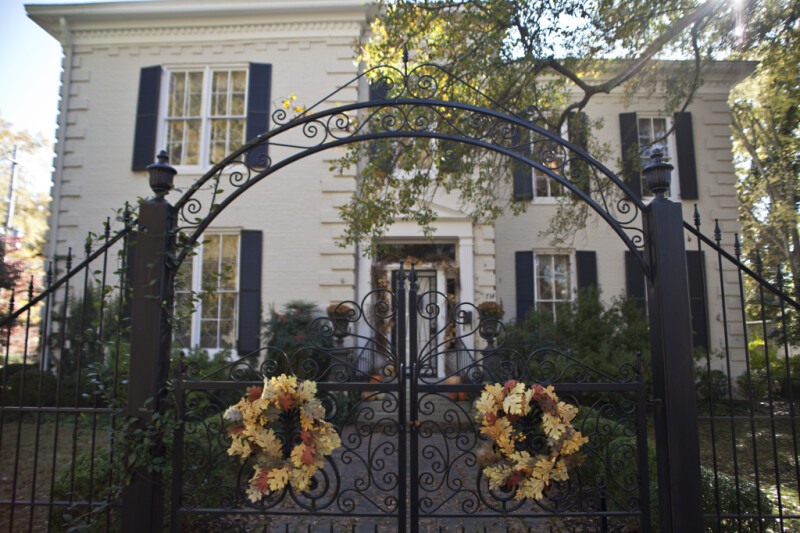 The Gate at the Sekeles Home