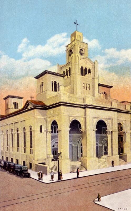 The Gesu Catholic Church in Miami, Florida