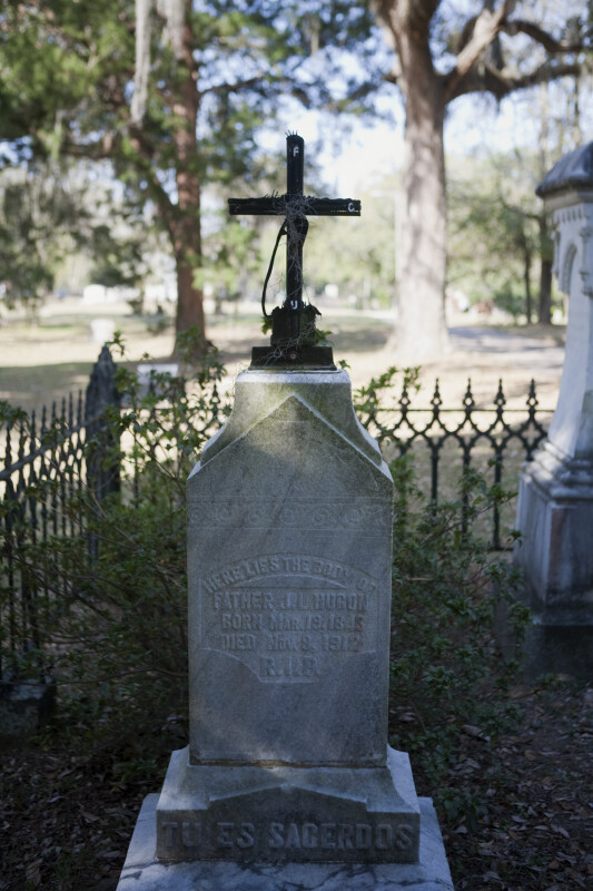 The Grave of a Priest