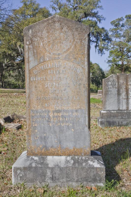 The Grave of Doctor Gunn