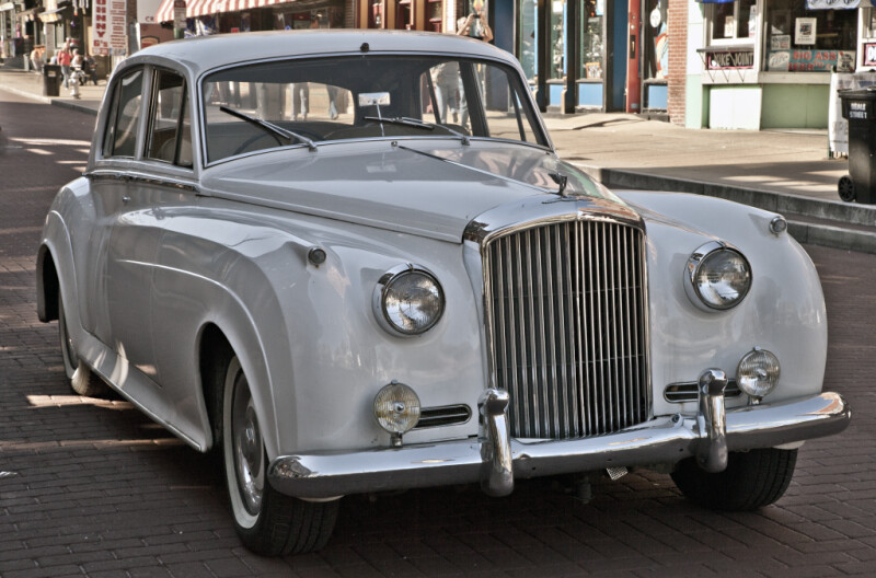 The Grille of a 1959 Bentley S1 Standard Saloon
