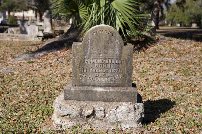 The Headstone of Edmond DuBois