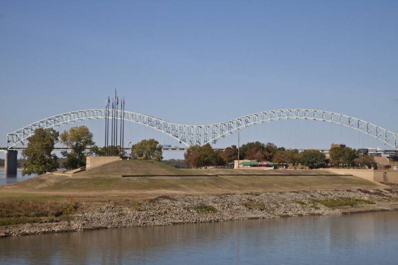 The Hernando de Soto Bridge