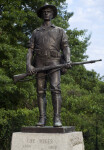 """The Hiker"" Statue"
