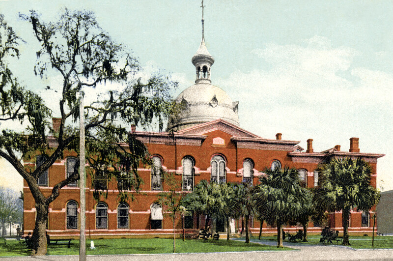 The Hillsborough County Courthouse in Tampa, Florida