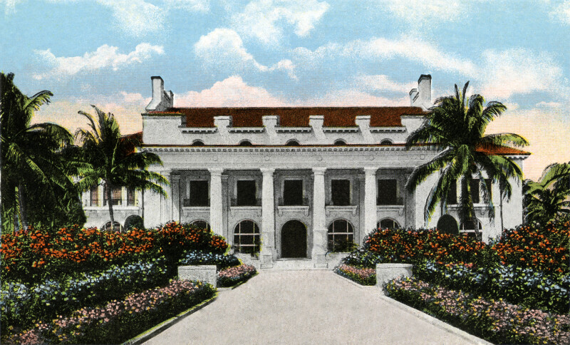 The Home of the Late Henry M. Flagler