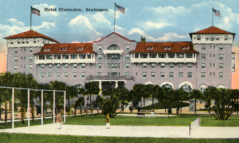 The Hotel Clarendon in Seabreeze