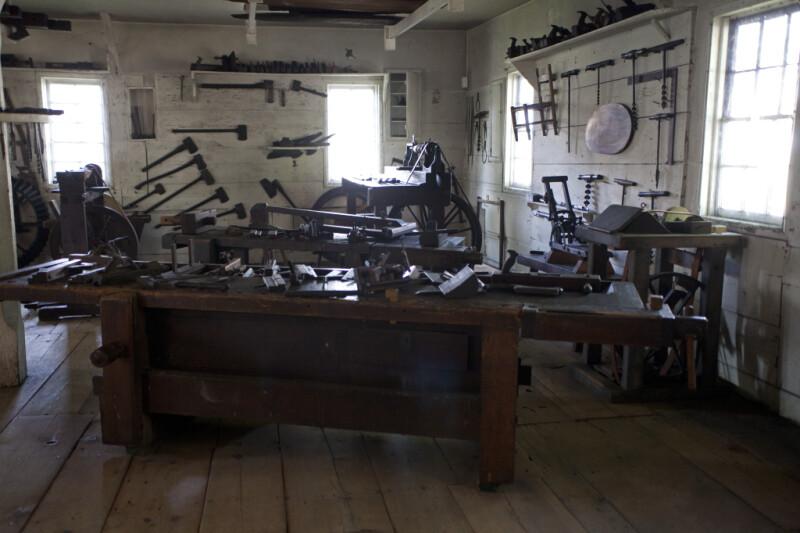 The Interior of the Carpenter's Workshop