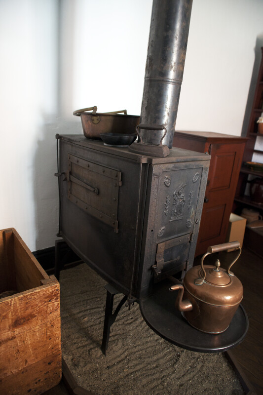 The Iron on the Six-Plate Cast Iron Stove