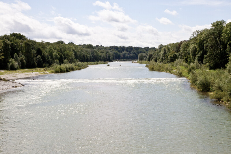 The Isar River
