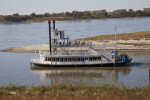 The Island Queen Leaving Wolf River Lagoon