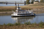 The Island Queen, near the Southern Tip of Mud Island River Park