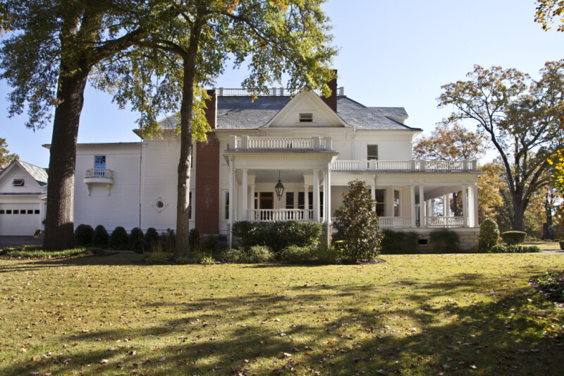 The James E. Creary House in Corinth, Mississippi