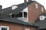 The Jerkinhead Roof on the Central Section of George Rapp's House