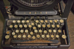 The Keys of a Remington Model 10 Typewriter