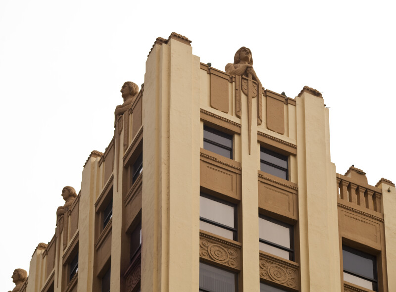 The Knights on the Huntington Building