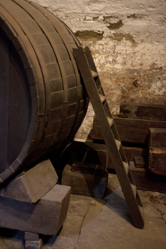 The Ladder Used to Get to the Top of the Cask