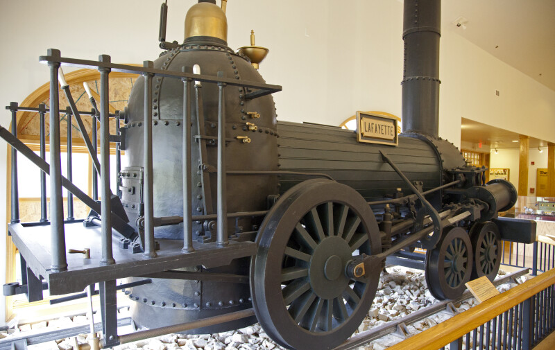 "The ""Lafayette"" Steam Engine"