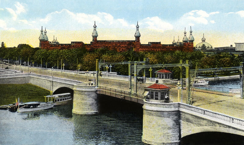 The Lafayette Street Bridge and Tampa Bay Hotel