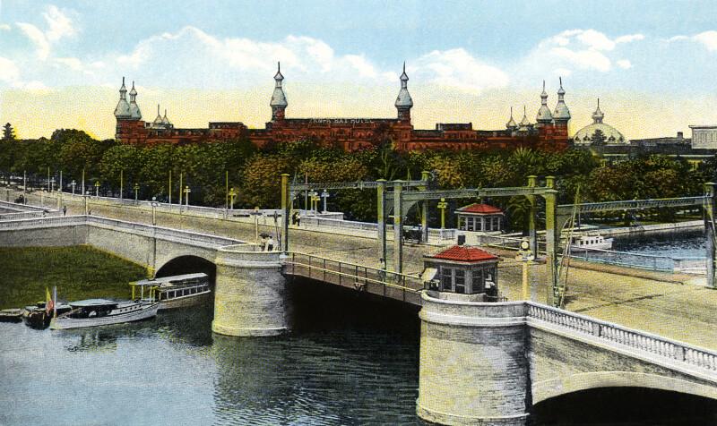 The Lafayette Street Bridge and Tampa Bay Hotel