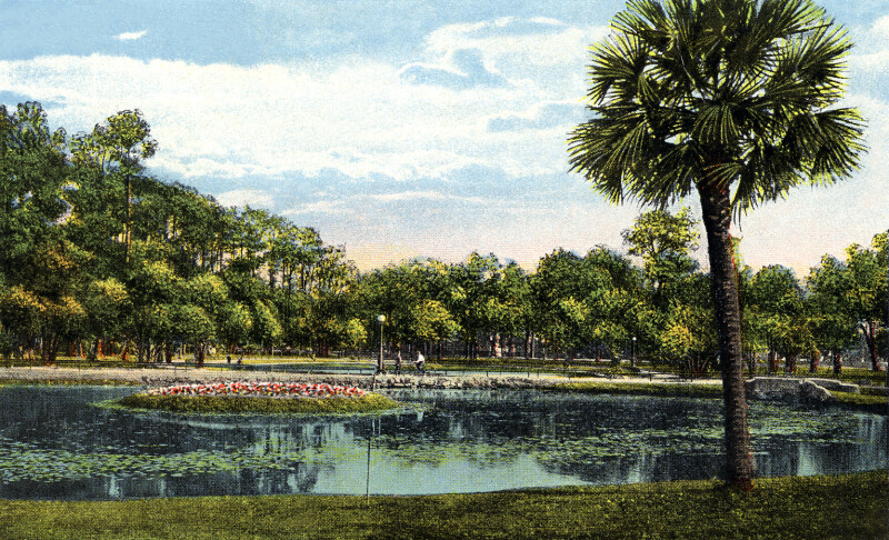 The Lagoon in Riverside Park