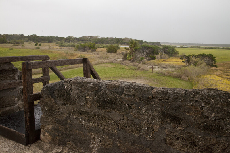 The Landscape to the Southwest of Fort Matanzas