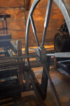The Large Wheel on the Twisting/Spinning Jack
