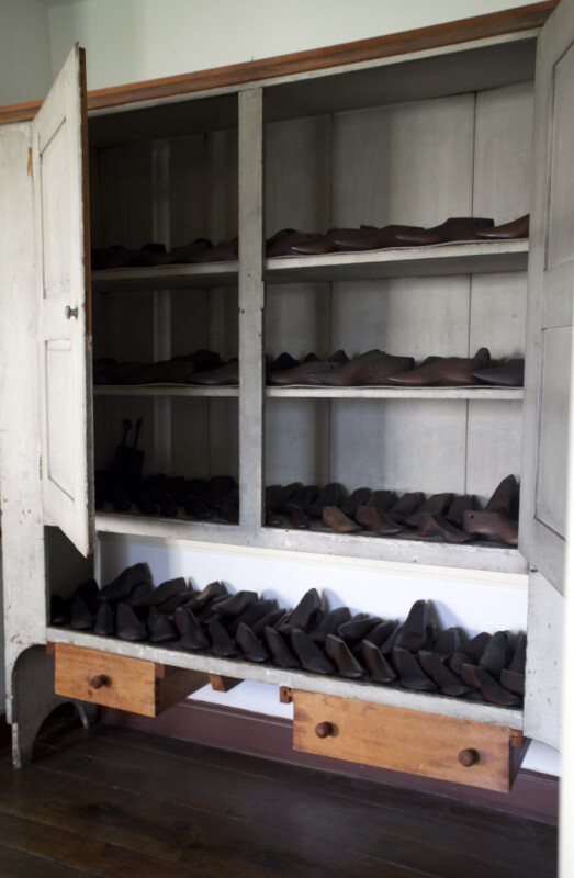 The Lasts That the Cobblers Uses to Form the Shoes